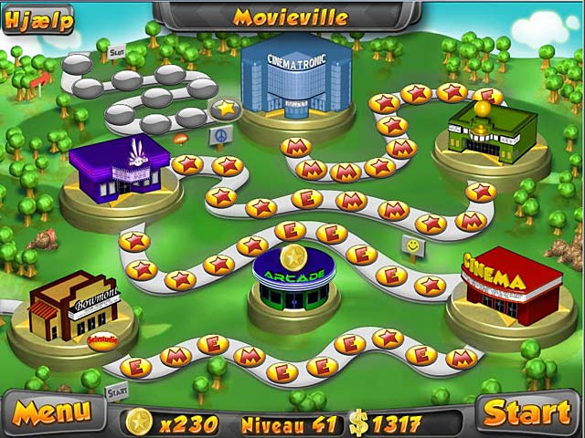 Spil Screenshot 1 Megaplex madness: Nu i biografen