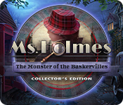 Feature Screenshot Spil Ms. Holmes: The Monster of the Baskervilles Collector's Edition