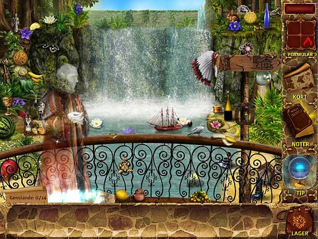 Spil Screenshot 1 Mysteries of Magic Island