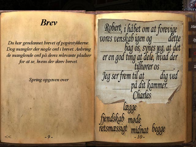 Spil Screenshot 2 Mystery Chronicles: Mord blandt venner
