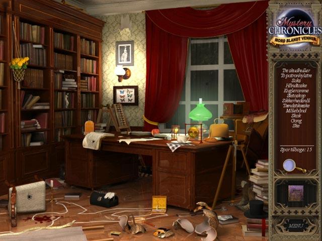 Spil Screenshot 3 Mystery Chronicles: Mord blandt venner