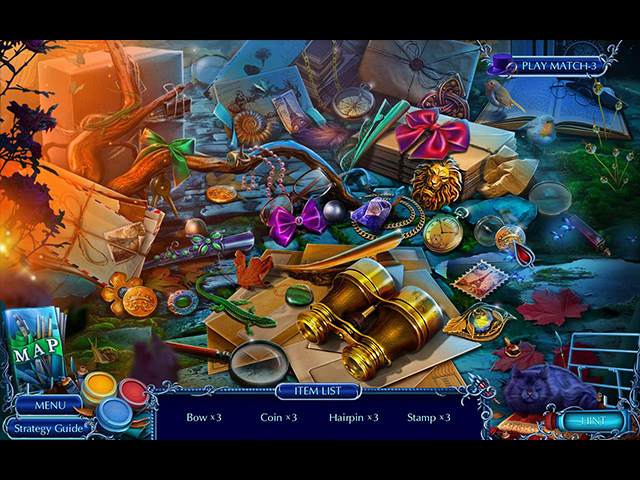 Spil Screenshot 2 Mystery Tales: Art and Souls Collector's Edition