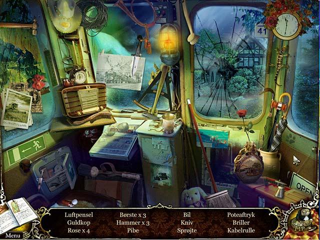 Spil Screenshot 2 Mystery Trackers: Tomrummet