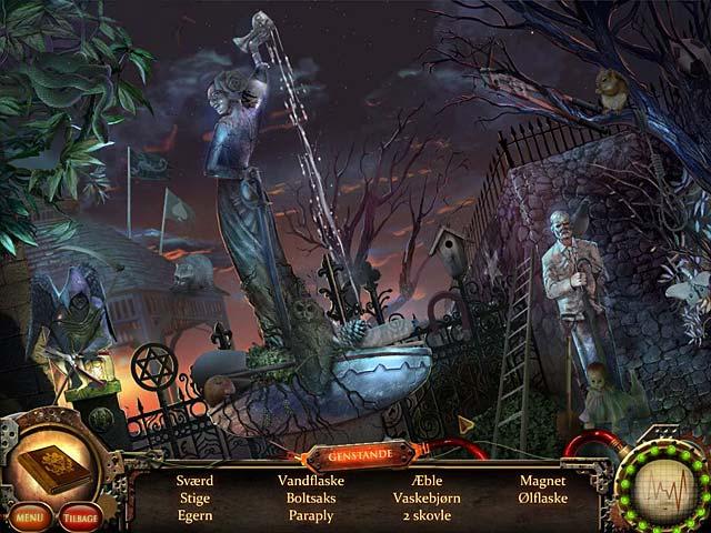 Spil Screenshot 2 Nightfall Mysteries: Galeanstalten
