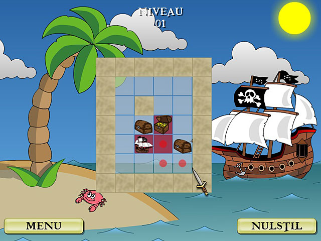 Spil Screenshot 2 Pirate Solitaire