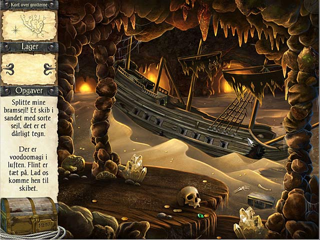 Spil Screenshot 1 Robinson Crusoe og piraternes forbandelse