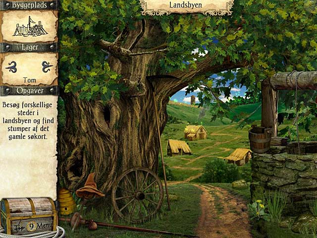 Spil Screenshot 1 Robinson Crusoes eventyr