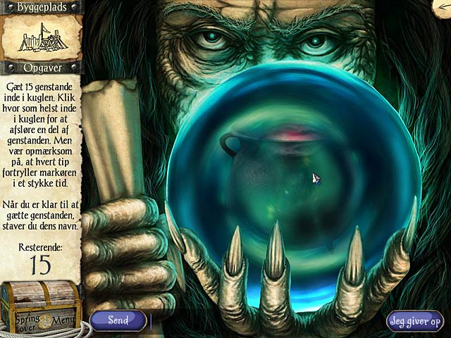 Spil Screenshot 2 Robinson Crusoes eventyr