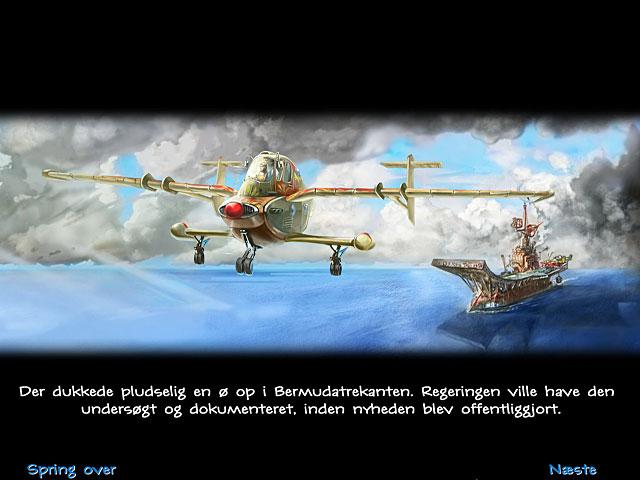 Spil Screenshot 1 Secret Mission: Den glemte ø