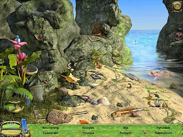 Spil Screenshot 2 Secret Mission: Den glemte ø