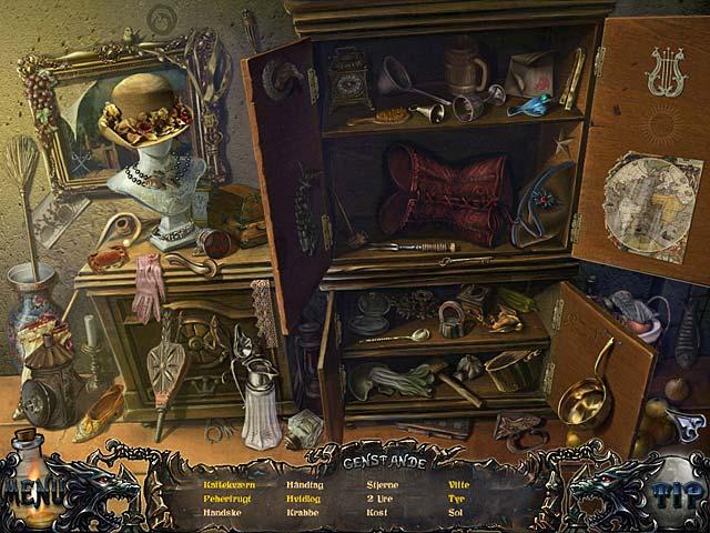 Spil Screenshot 2 Shadow Wolf Mysteries: Fuldmånens forbandelse