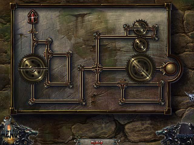 Spil Screenshot 3 Shadow Wolf Mysteries: Fuldmånens forbandelse