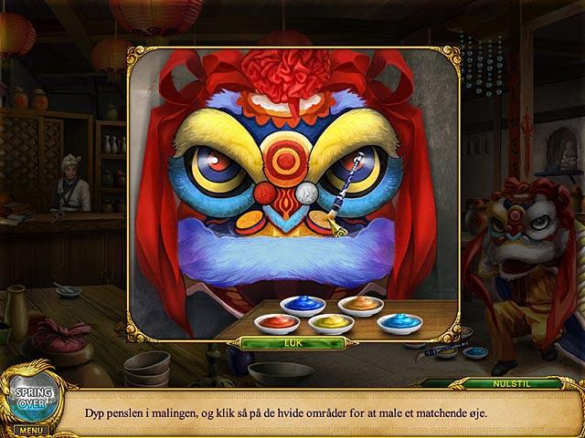 Spil Screenshot 3 Shaolin Mystery: Sagnet om dragestaven