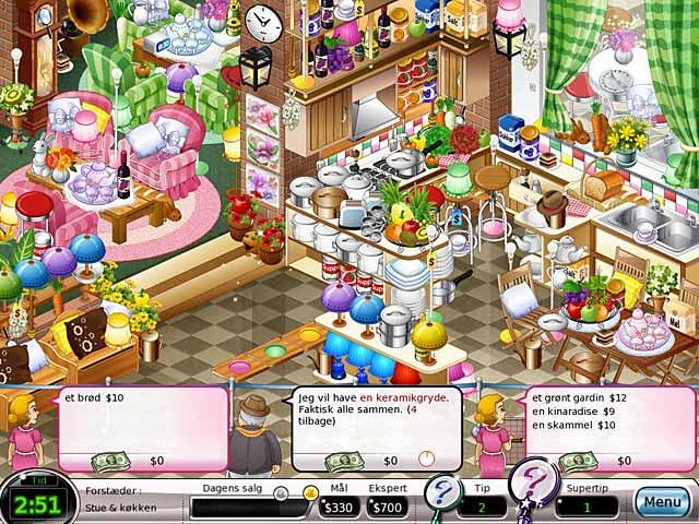 Spil Screenshot 1 Shop-n-Spree: Familieformuen