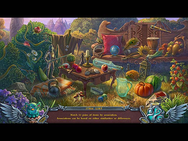 Spil Screenshot 1 Spirits of Mystery: The Silver Arrow Collector's Edition