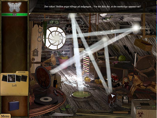Spil Screenshot 2 Strange Cases: Tarotkort-mysteriet