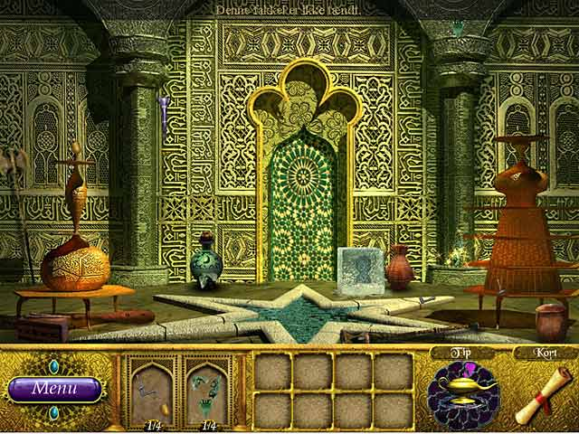 Spil Screenshot 1 The Sultan's Labyrinth: Et kongeligt offer