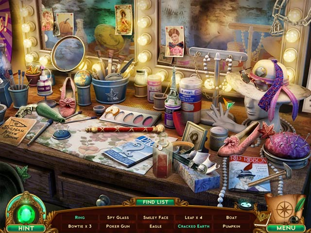 Spil Screenshot 1 The Emerald Maiden: Symphony of Dreams Collector's Edition