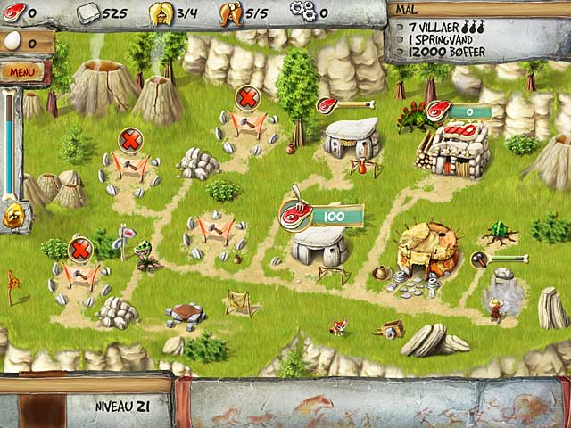 Spil Screenshot 1 The Timebuilders: Caveman's Prophecy