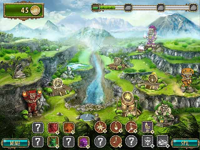 Spil Screenshot 2 The Treasures of Montezuma 2