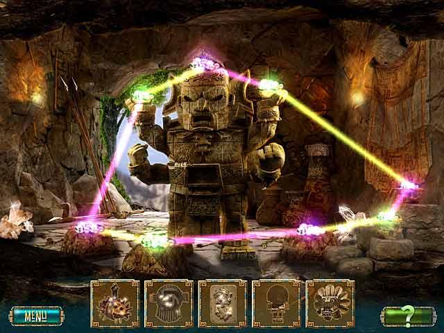 Spil Screenshot 3 The Treasures of Montezuma 2