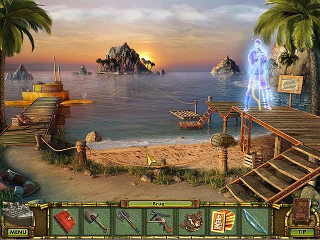 Spil Screenshot 2 The Treasures of Mystery Island: Spøgelsesskibet