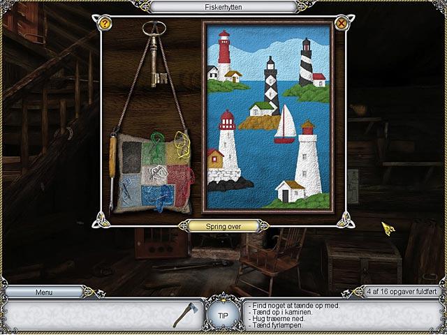 Spil Screenshot 2 Treasure Seekers: De fortryllede malerier