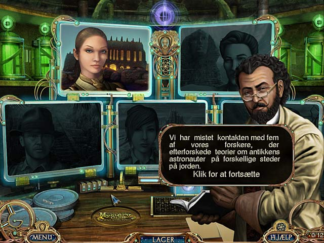 Spil Screenshot 3 Unsolved Mystery Club: Ancient Astronauts