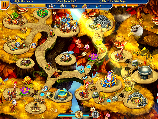 Spil Screenshot 3 Viking Brothers VI Collector's Edition