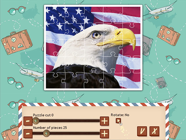 1001 Jigsaw World Tour: American Puzzle img