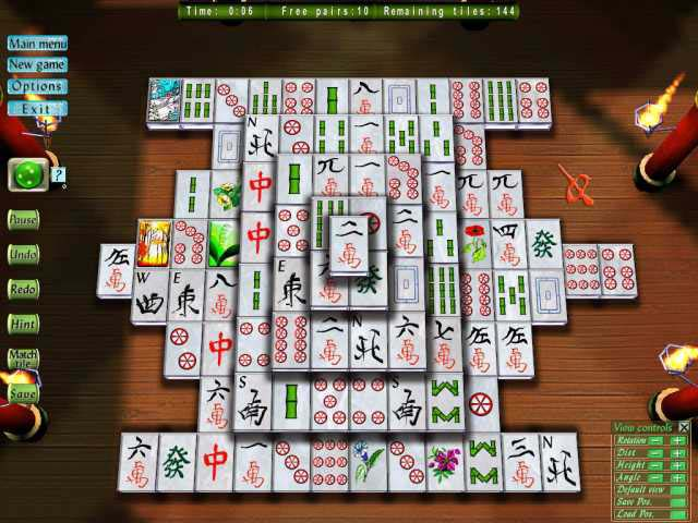 Game screenshot 2 Mahjong magic 3D part 2