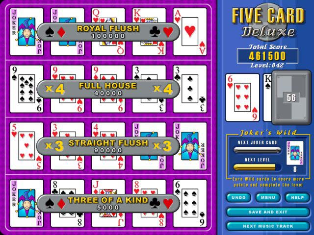 Spiele Screenshot 3 Five Card Deluxe