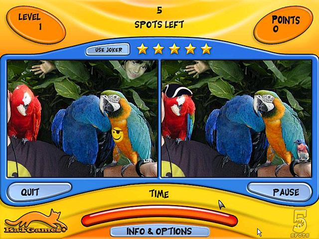 Game screenshot 1 5 Spots