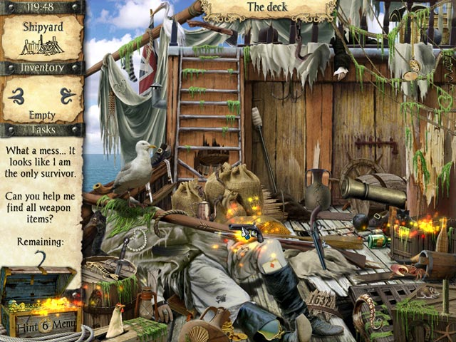 Game screenshot 1 Robinson Crusoe