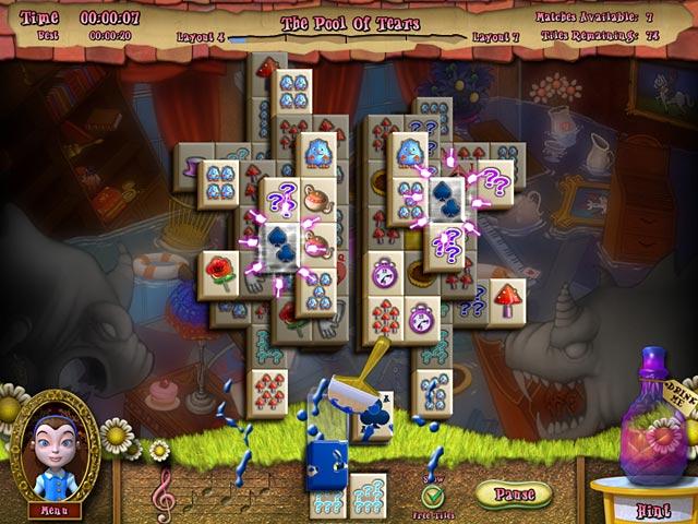 Game screenshot 3 Alice's Magical Mahjong