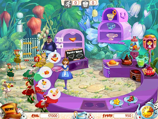 Game screenshot 1 Alice's Teacup Madness