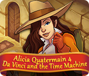 Feature screenshot game Alicia Quatermain 4: Da Vinci and the Time Machine