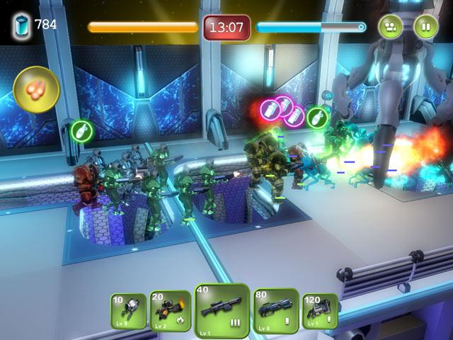 Game screenshot 2 Alien Hallway