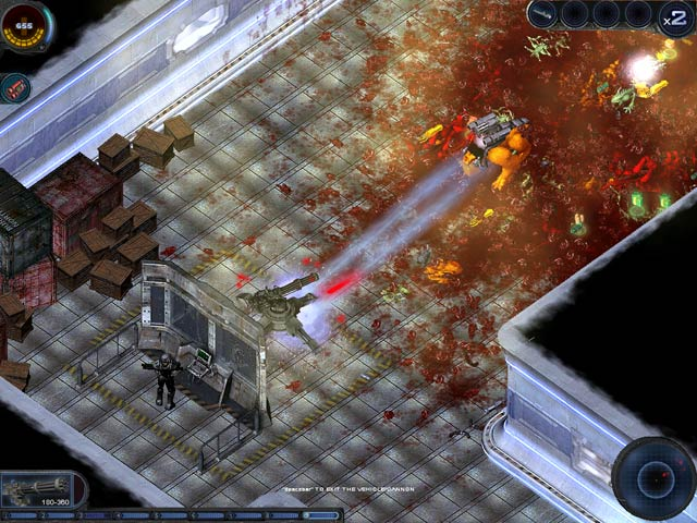 Game screenshot 2 Alien Shooter: Revisited