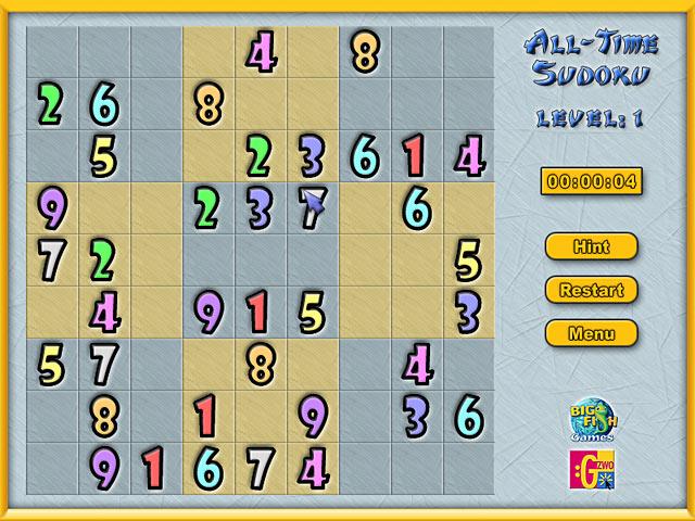 Game screenshot 2 All-Time Sudoku