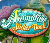Feature screenshot game Amanda's Sticker Book