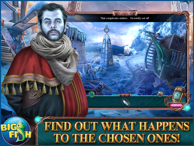 Screenshot for Amaranthine Voyage: Winter Neverending Collector's Edition