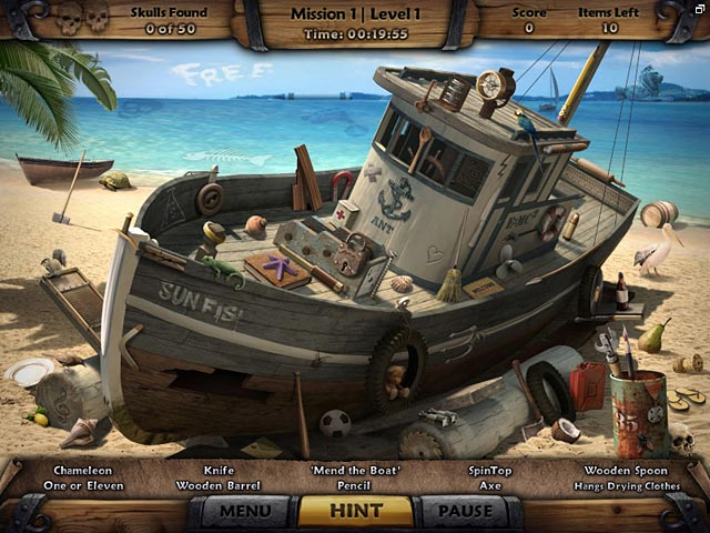 Game screenshot 1 Amazing Adventures: The Caribbean Secret