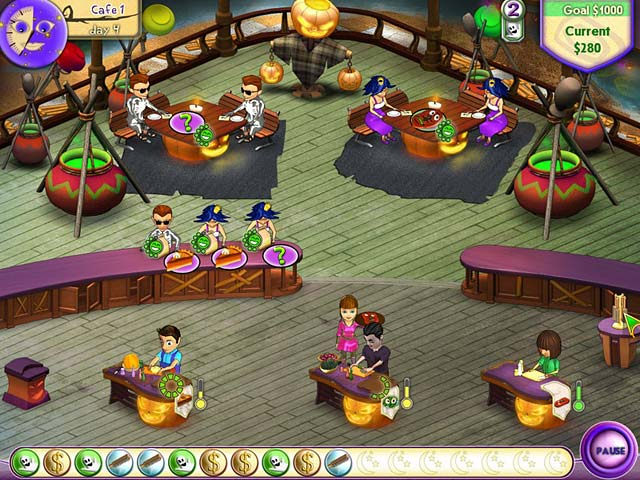 Game screenshot 1 Amelie's Cafe: Halloween