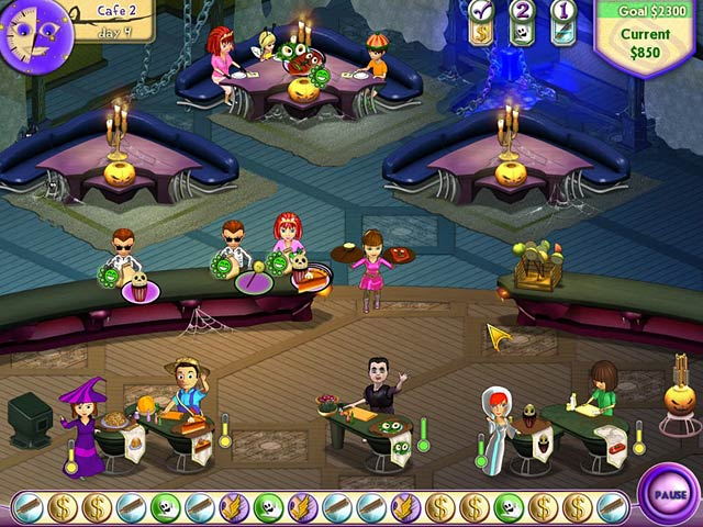 Game screenshot 2 Amelie's Cafe: Halloween