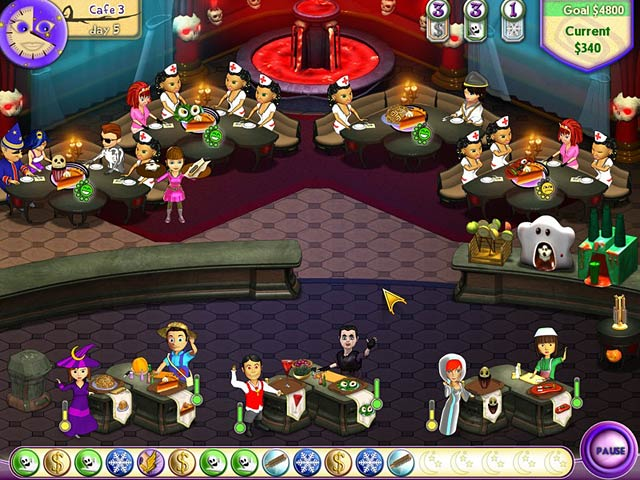 Game screenshot 3 Amelie's Cafe: Halloween