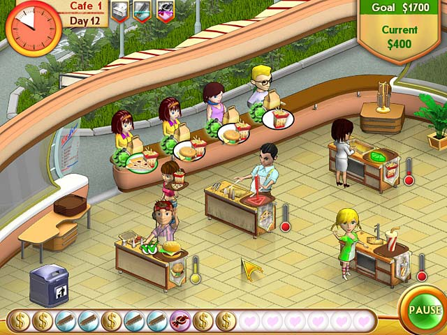 Game screenshot 1 Amelie's Cafe
