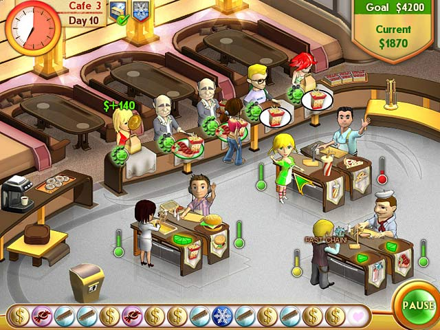 Game screenshot 2 Amelie's Cafe
