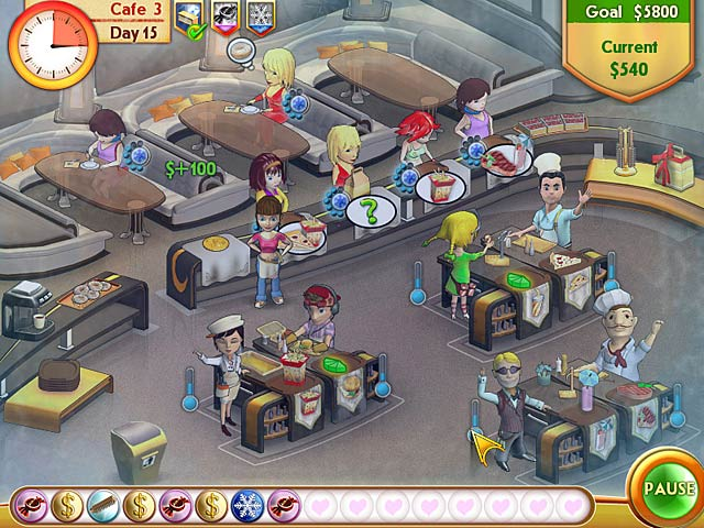 Game screenshot 3 Amelie's Cafe