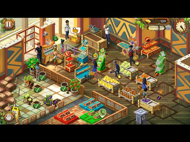 Game screenshot 2 Amy's Greenmart